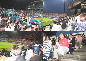 松山市のチャリティー試合を観戦しました!
